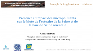 Diaporama colloque micropolluants