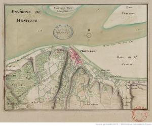 Honfleur en 1750