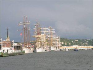 Photo - Bateaux Armada (C. Degrémont, GIP Seine-Aval)