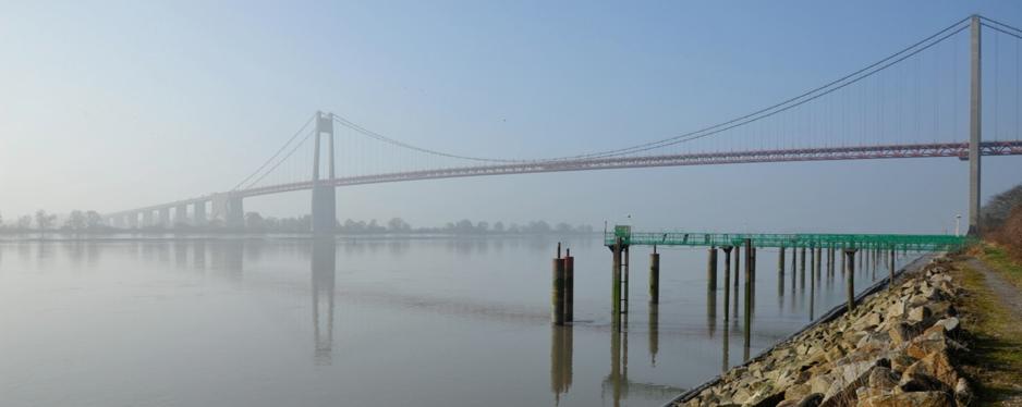 Photo - Pont de Tancarville (JP Lemoine - GIP Seine-Aval)